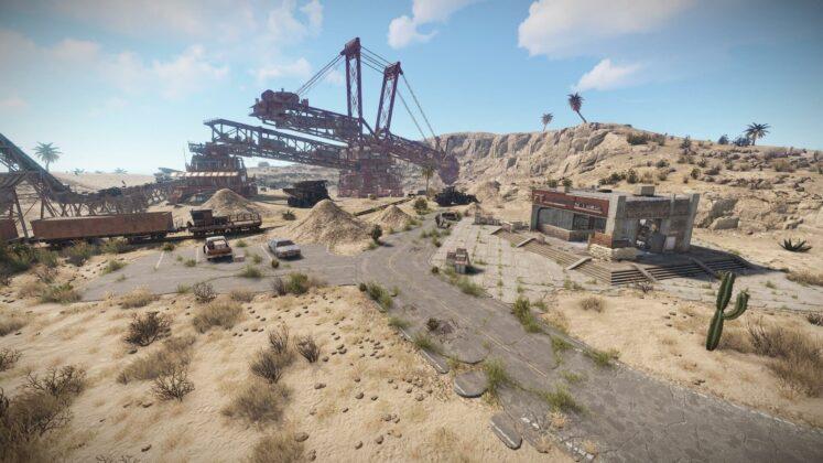 Rust - Welt-Überarbeitung - Schrottplatz