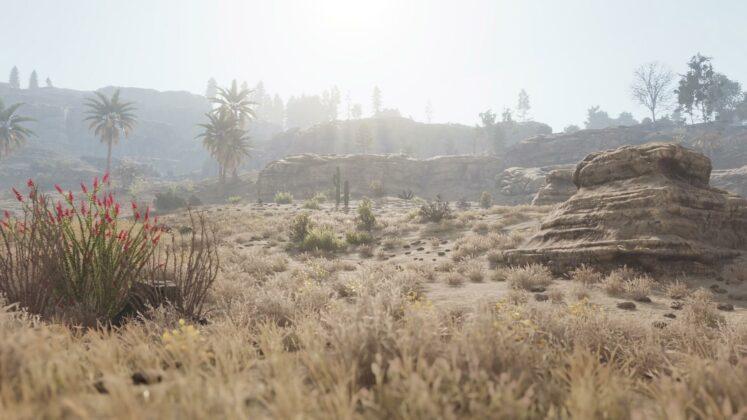 Rust - Welt-Überarbeitung - Wüste