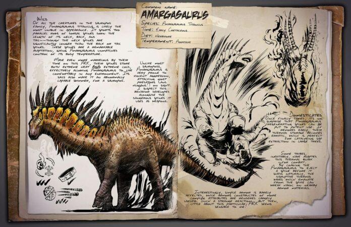 ARK: Lost Island DLC - Amargasaurus