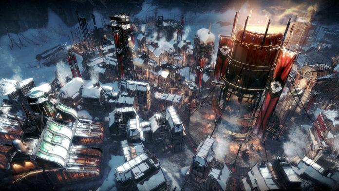 Frostpunk kostenlos im Epic Games Store