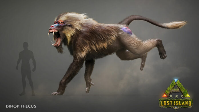 ARK: Lost Island DLC - Dinopithecus