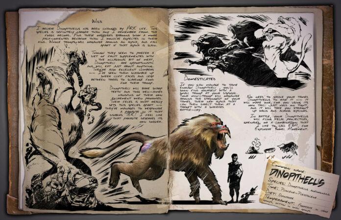 ARK: Lost Island - Dinopithecus Dino Dossier