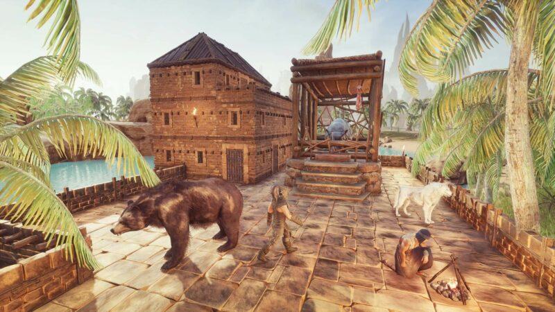 Conan Exiles - Update 2.5 - kleine Tierkäfige