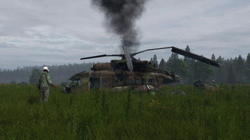 DayZ Experimental-Update 1.14 - Helikopter-Absturzstellen